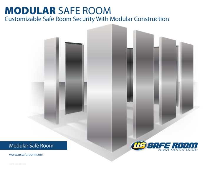 Cloud computing disaster recovery us safe room for Modular safe room