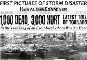 Murphysboro Newspaper Tornado Fatalaties