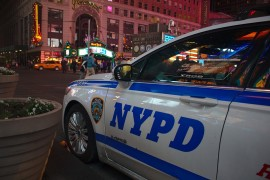 Police respond to a violent home invasion in New York.