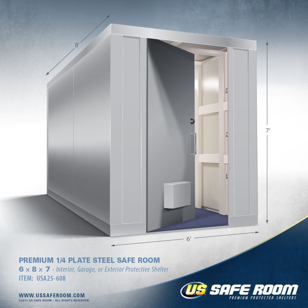 6 foot wide safe room