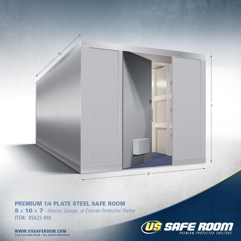 8 x 10 Safe Room