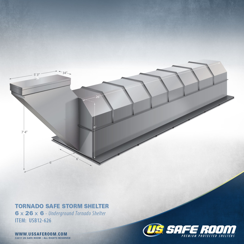 Tornado Shelter by US Safe Room